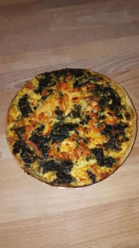 Quiche épinards